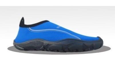 zapato acuatico svago modelo aqua color azul