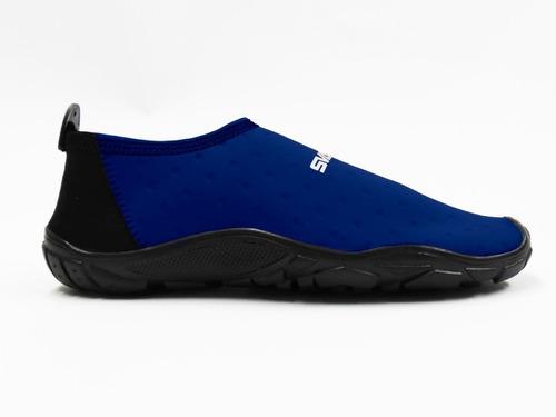 zapato acuatico svago modelo aqua color azul marino