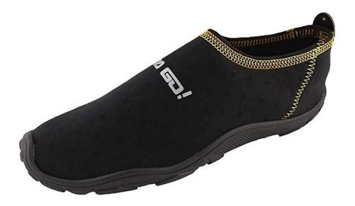 zapato acuatico svago modelo aqua color negro