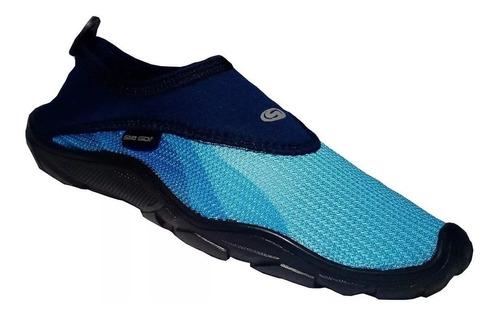 zapato acuatico svago modelo ibiza azul