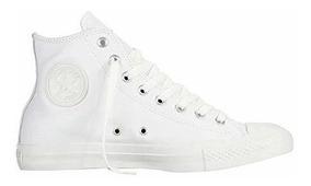 LeatherMonocrom Zapato Star Alto All Chuck Taylor Converse stdQrh
