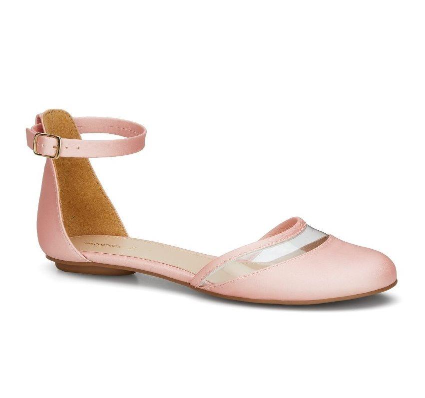 best website 3f64b dc441 Zapato Andrea Flat Ballerina Rosa Pulsera 2543307 Casual