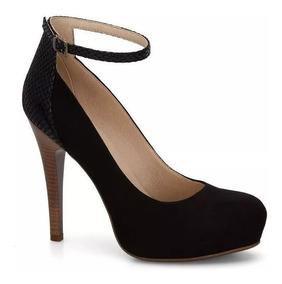 Tacon Andrea 2686387 Zapato Tobillo 12 Negro Correa Alto wNnOPkX08