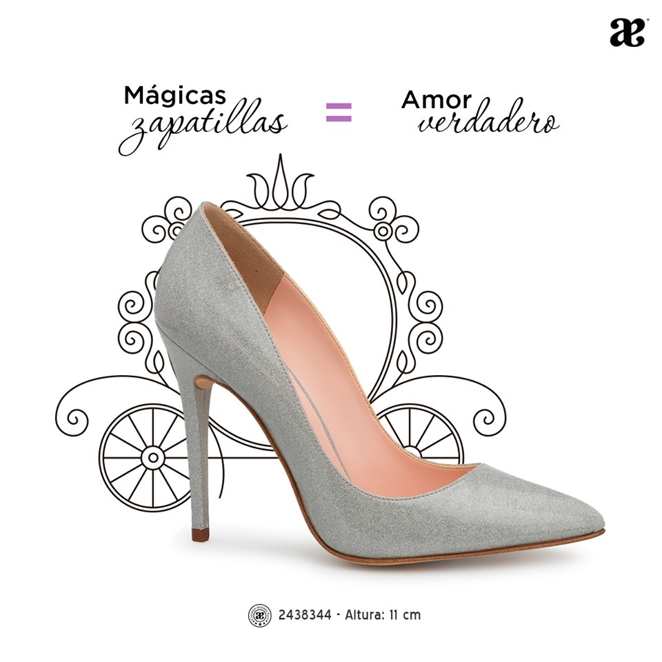 Zapato Dama Plata Fiesta Andrea 2438344 Tacón 11 Stiletto -   750.00 ... ad5fee914dfc