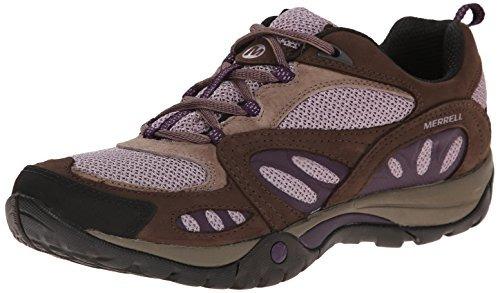 zapato azura senderismo merrell mujeres, marrón, 7 m us