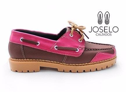 e5ecf1c8 Zapato Bajo Mocasin Dama Mujer Colores Cuero Canchera Diseño ...