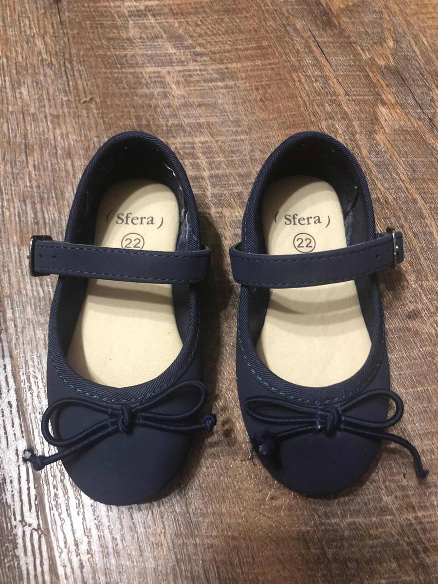 dcdd29b24b853 Zapato Balerina Azul Marino Usados Niña 13 Cm -   206.00 en Mercado ...