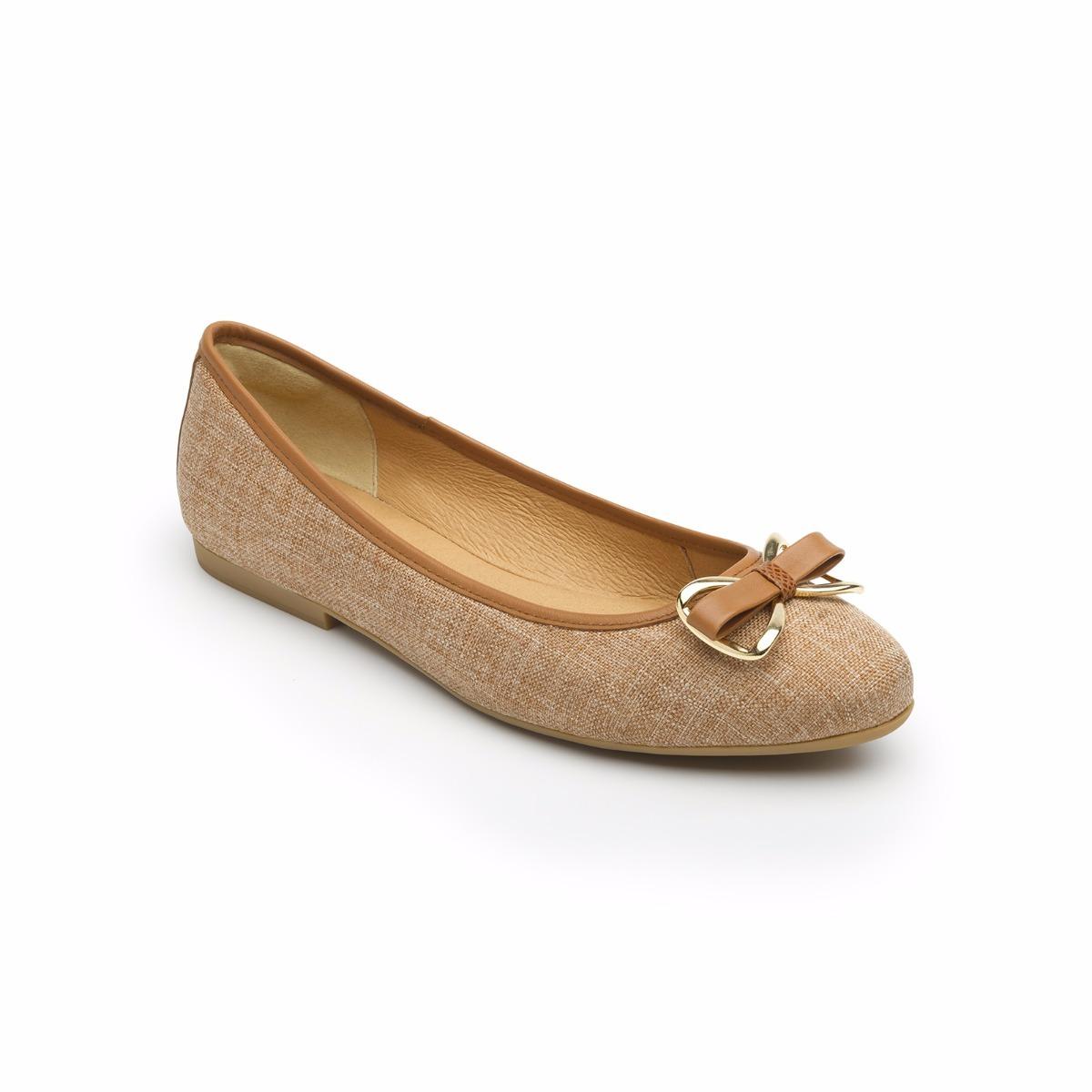 venta caliente real diferentemente elige el más nuevo Zapato Balerina Flexi Dama 47302 Beige Cafe Mujer Flats