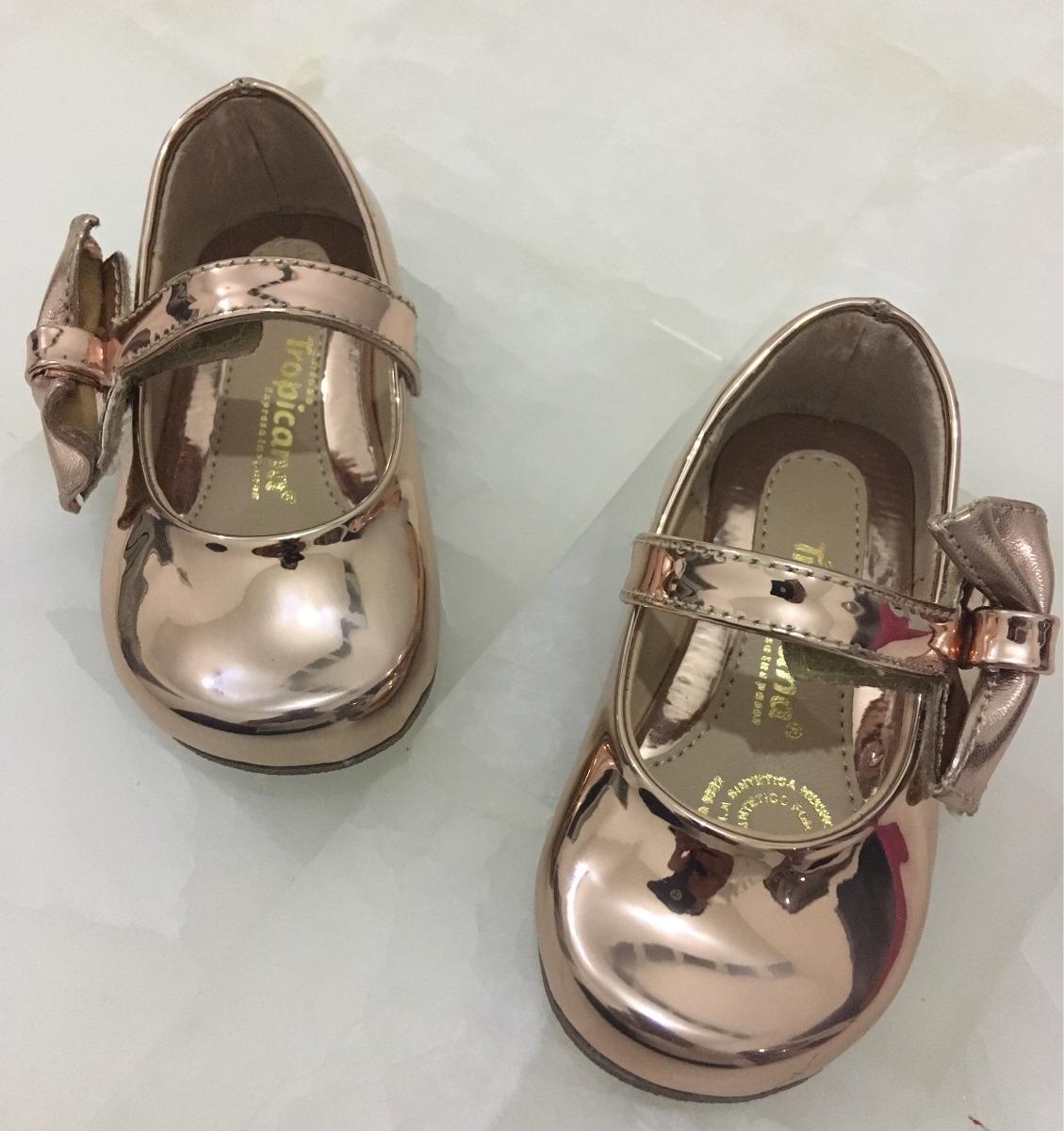 0a7eaa5b5b69e Zapato Balerina Para Niña Dorado -   340.00 en Mercado Libre
