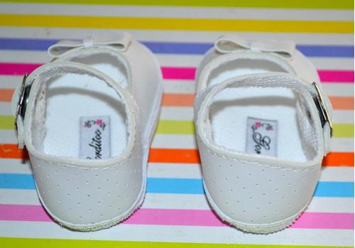 zapato beba perforado bautismo gorditoo little treasure