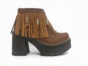 b6f0b90a Zapatos Con Flecos Plataforma - Ropa y Accesorios en Mercado Libre Argentina