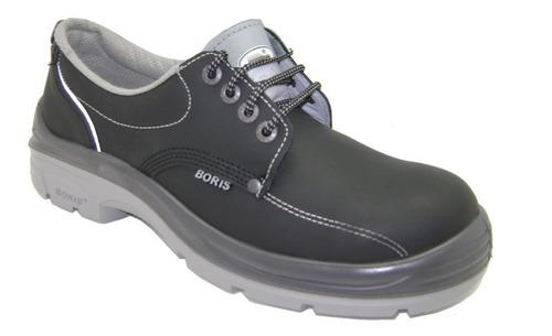 zapato boris de seguridad 3161 puntera de acero dielectrico