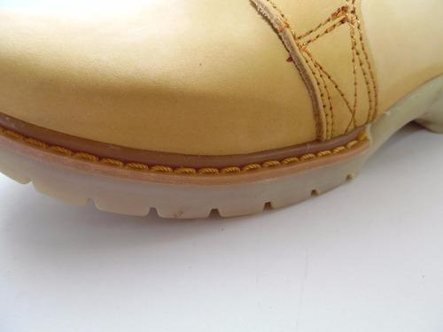 zapato botas de trabajo dama mujer pma 470 miel