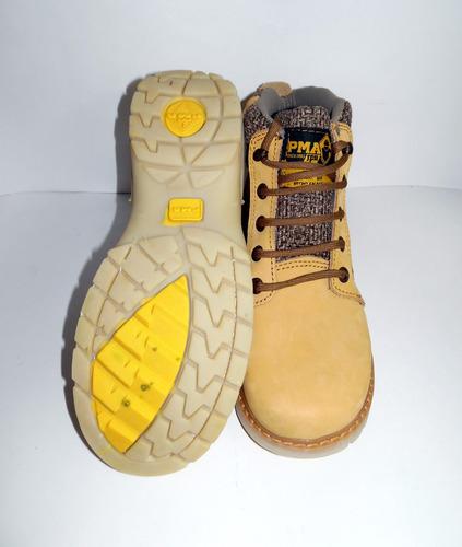 zapato botas de trabajo dama mujer pma