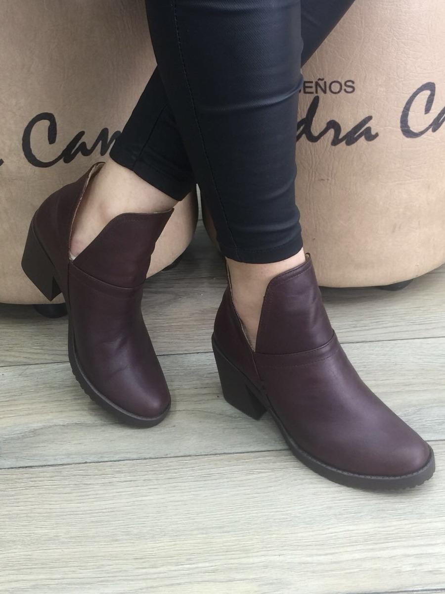 f4ca04387dbe9 Zapato Botin En Cuero Para Mujer Sandra Cano Shoes -   118.000 en ...