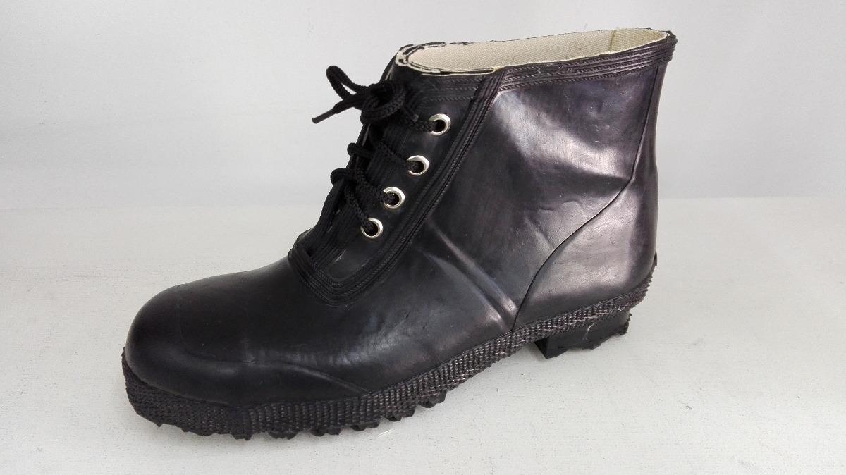 f1eb8916f4 zapato botin goma agua de trabajo seguridad caucho natural. Cargando zoom.