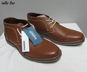d7075a56a4 Zapatos Botines Para Hombre De Cuero - Ropa y Accesorios en Mercado ...