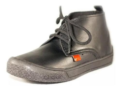 zapato botin para niño kicker, duradero, antiresbalante