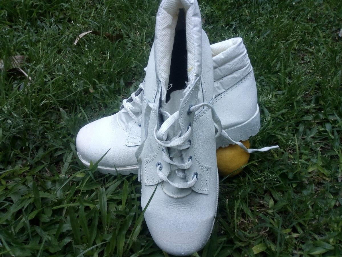 Zapato Botin Trabajo Blanco Frigorifico Certificado Fabrica