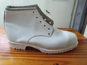 Zapato Botin Trabajo Blanco Frigorifico La Española Liquido