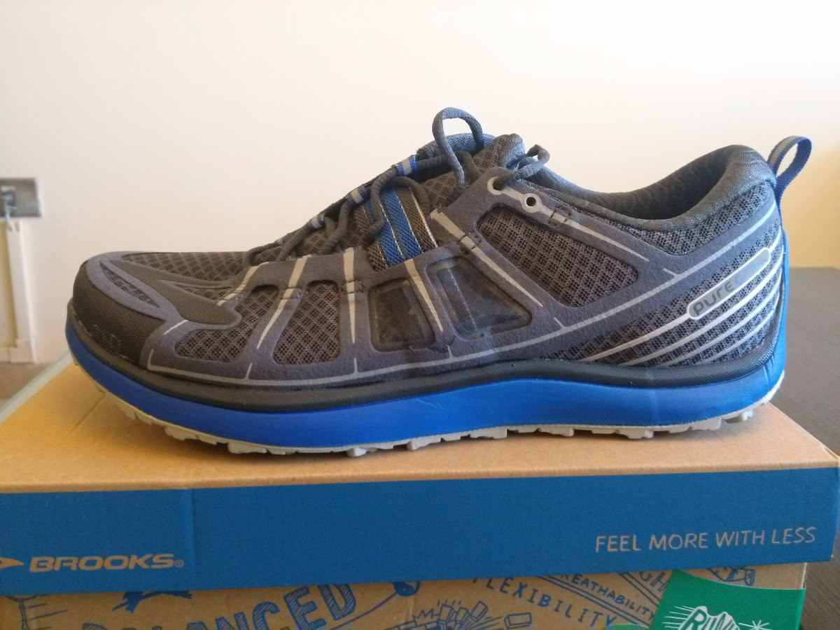 Puregrit 14 Zapato Men Original Bs 5 Brooks 8 2 New Us 300 Talla 41OAq