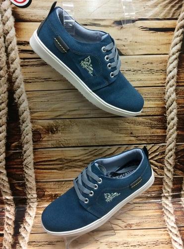 zapato calzado moda para hombre chicos caballero azul marino