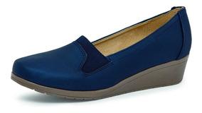 Color Zapato Cuña Marino Zapato Casual OilwPXZTku