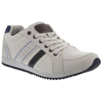 6211c118 Zapato Casual Deportivo Para Hombre Breaker - Blanco Y Azul ...