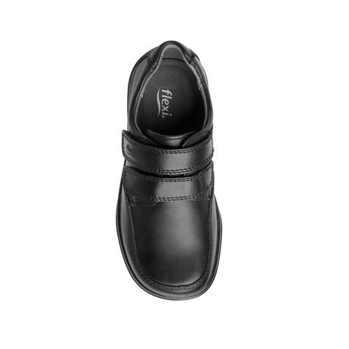 zapato casual escolar flexi niño 402103 negro