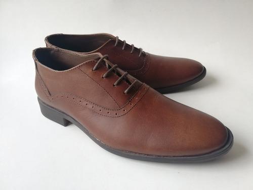 zapato casual formal oxford hombre