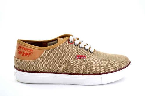 zapato casual levis para hombre 226071 café [lev52]