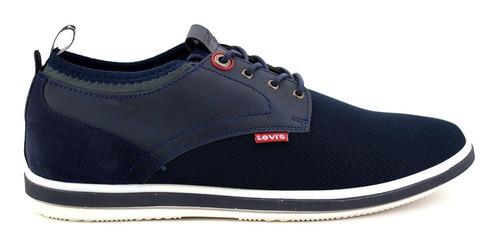zapato casual levis para hombre 228101 azul marino [lev95]