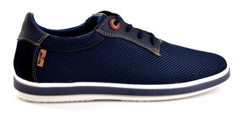 zapato casual levis para hombre l217104 azul marino [lev79]