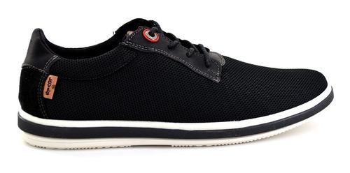 zapato casual levis para hombre l217104 negro [lev80]