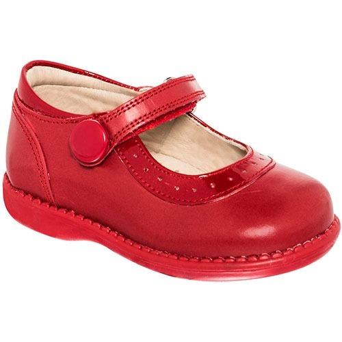 9992160b Zapato Casual Para Bebe Dogi Rojo Charol Piel Y79500 Dgt - $ 640.00 ...