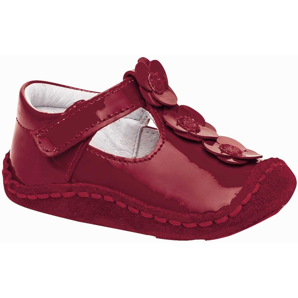 51c72a9c zapato casual para bebe marca ensueño piel charol 62272 dgt. Cargando zoom.