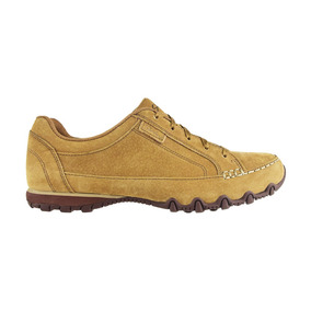 Zapato Casual Skechers Relaxed Fit Bikers Curbed Camel Tot