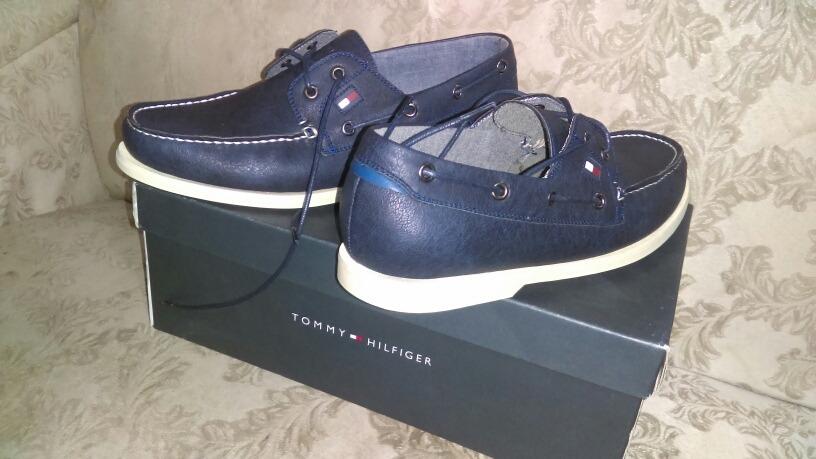 465229ce9e3 zapato casual tommy hilfiger azul marino nuevos originales. Cargando zoom.
