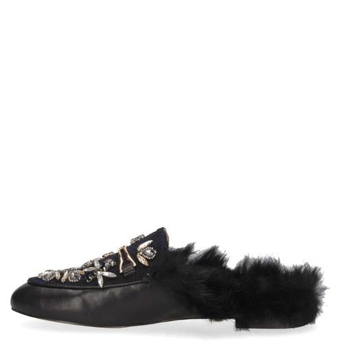 zapato casual zappa mujer negro - t465