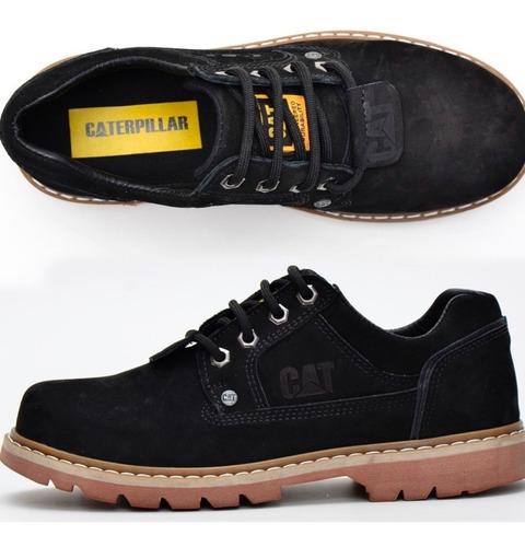 zapato cat caterpillar color negro