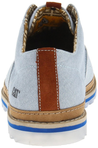 zapato caterpillar p715805 cormac azul t/40 40.5 43