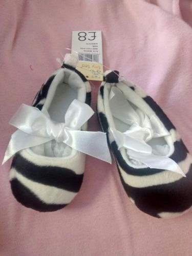 zapato cebra bebé - pétalo, vestidos de niñitas.