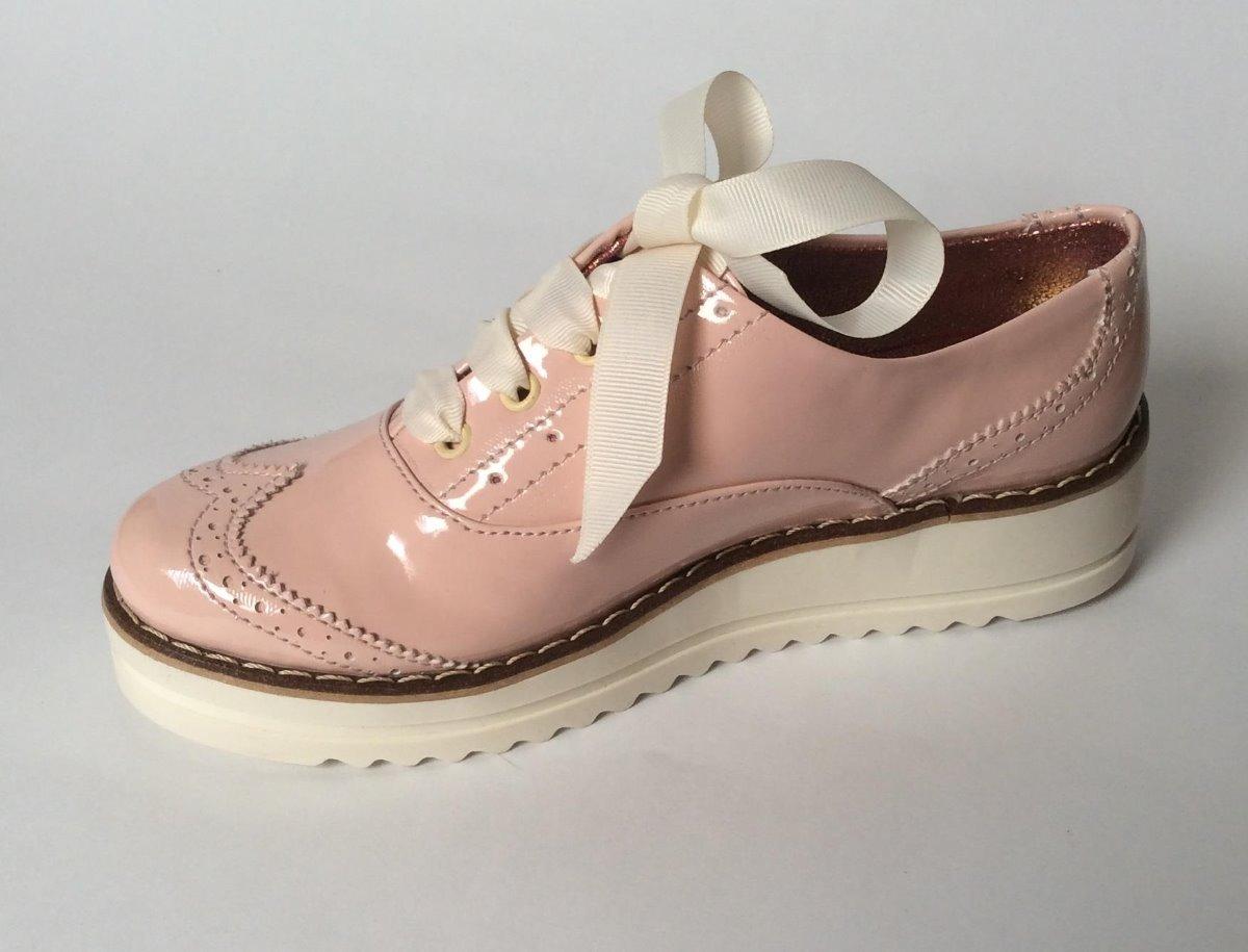 Zapato Charol Rosa Plataforma Mujer 2 Y 1 2 -   38.000 en Mercado Libre 7cb1f3f30e74