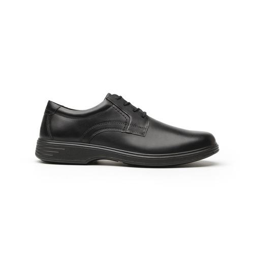 zapato choclo flexi caballero 59301 negro.
