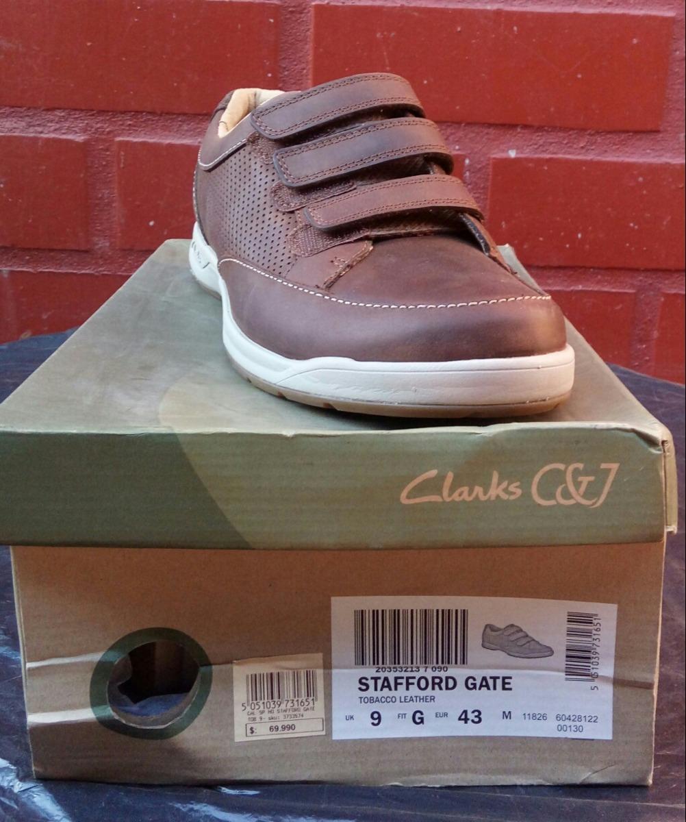 Zapato Clarks 100% Cuero Color Café N° 43
