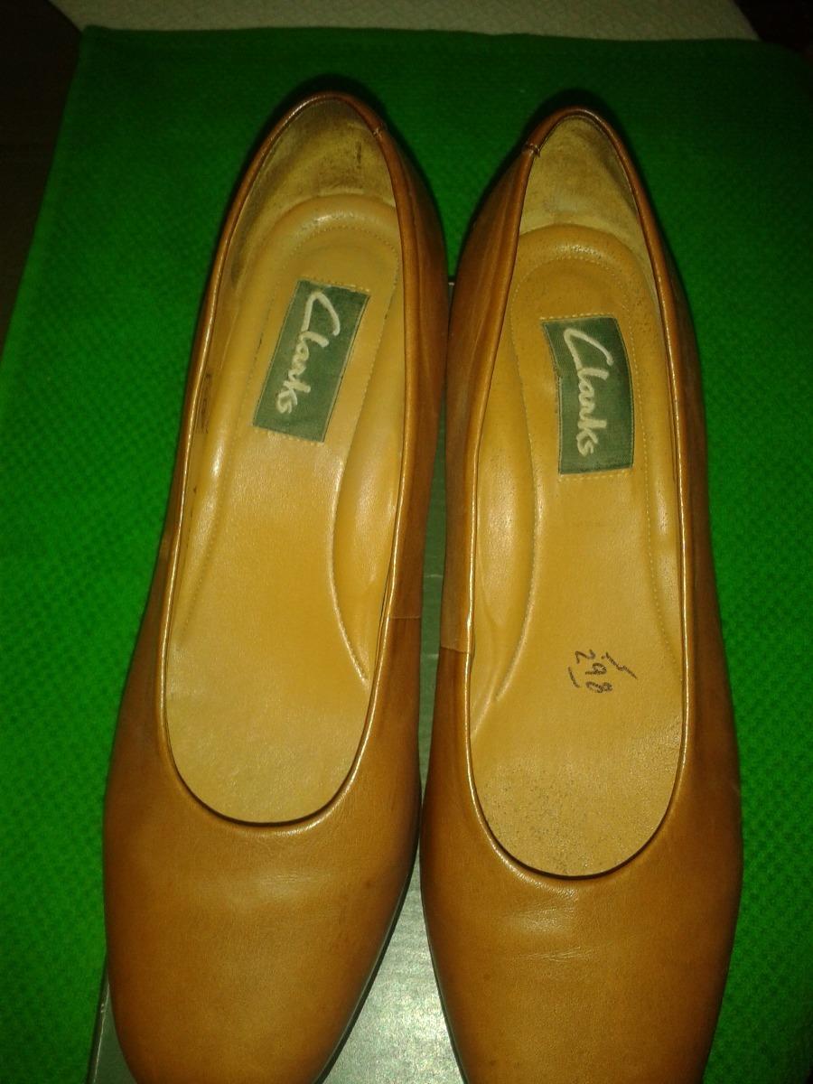 Marrón De Dama 3 Zapato Claro 480 Bs Tacón Clarks Medio 00 En qtgwFx6