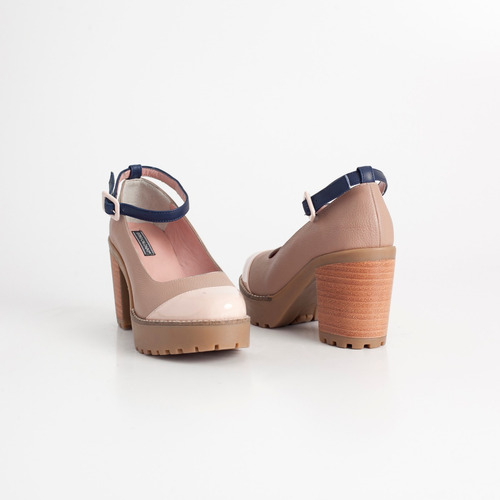 zapato clasico de cuero. art michi vison. otro calzado