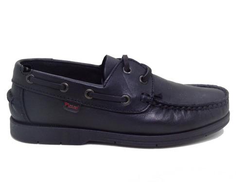 zapato colegial marcel náutico cuero dreams caballito g500
