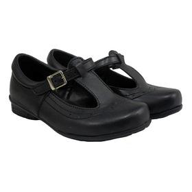 Zapato Colegial Para Niña Divertida