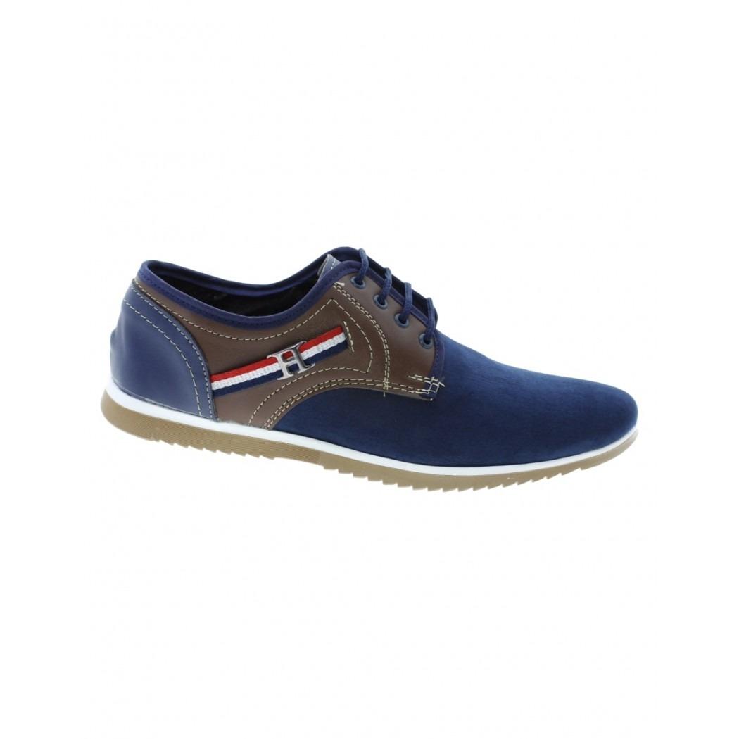 Hombre Marca Nobuck Para Albe Cafe Comodo Azul Casual Zapato qzxF0nvwtz